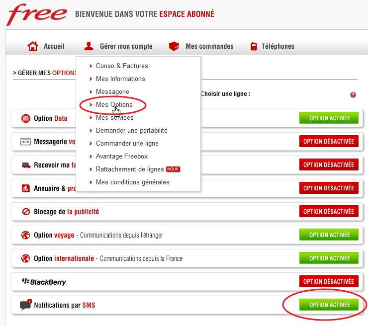 Envoyer un sms depuis gmail via freemobile - Recevoir les sms d un autre portable ...
